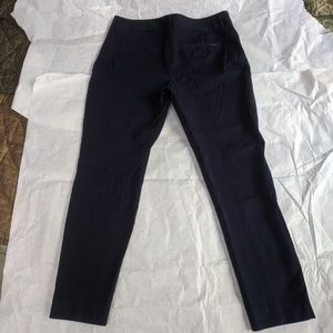 Slim Leg Dark Navy Blue Pants